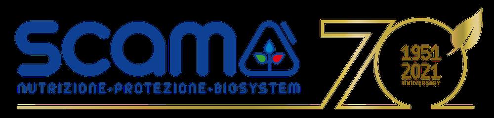 Scam - logo - 70 anni