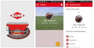 App spreadsheet Kuhn - Android
