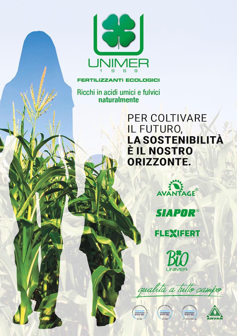 Fertilizzanti ecologici UNIMER: ricchi in acidi umici e fulvici naturalmente