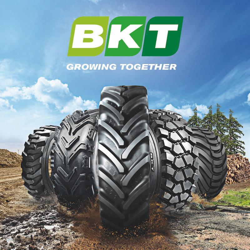 BKT - pneumatici Off-Highway per tutte la macchine agricole